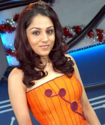 Lekha Washington as a VJ in the SS Music office #1