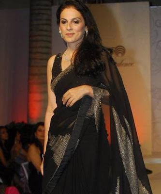 Meera Ali at the Opulence Fashion Show