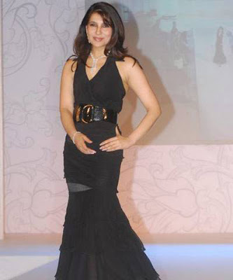 Tanisha Mohan walks the ramp