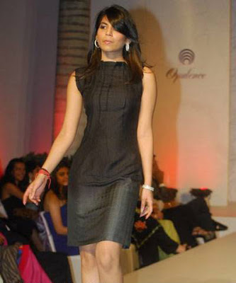 Ankita Bhargava walks the ramp