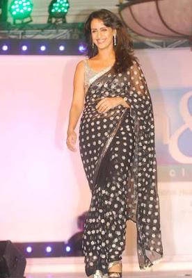 Shivani Wazir walks on ramp