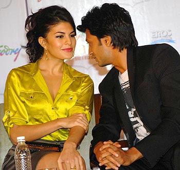 Jacqueline Fernandes & Riteish Deshmukh