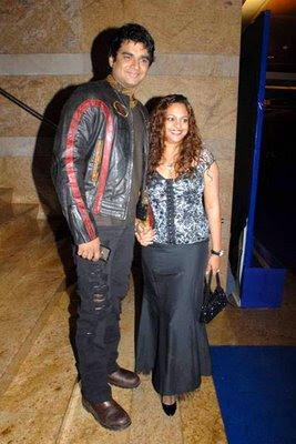Sarita Birje & R Madhavan  attend Holi bash