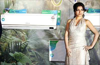 When Soha Ali Khan launched the Samsung bio sleep ACs
