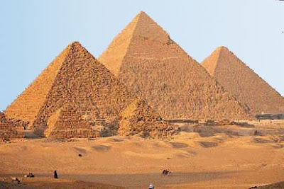 Why were the Pyramids built?