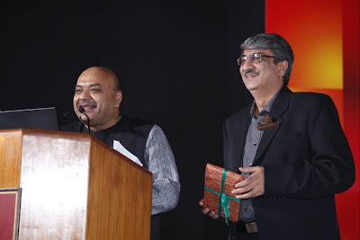 Sudhanshu Mittal Ji with Sanjeev Bagga at an event
