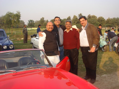 Sudhanshu Mittal Ji with Vikrant Bhandula, Gyan Sharma and Ajai Kapur.