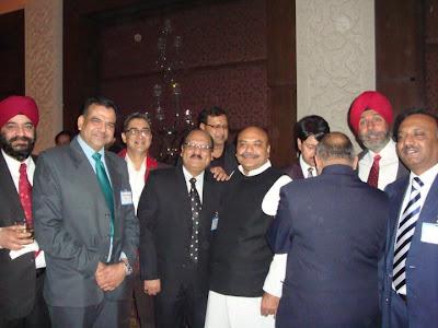 Sudhanshu Mittal Ji spotted at the SRCC alumni meet