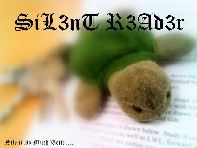 SiL3nT R3Ad3r