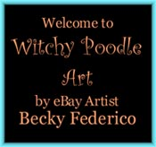 Witchy Poodle Artist