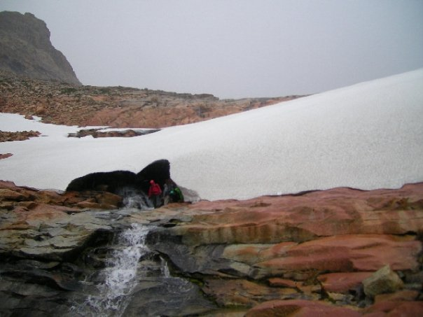 Glaciar Larsen!