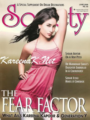 Kareena in Society Magazine