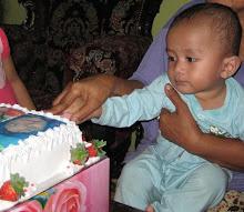 Birthday Muhammad Muaz 1 Tahun