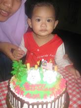 Birthday Nur Alya 1 Tahun