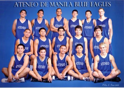 The Blue Eagles had an early lead and ended the game with 13 points