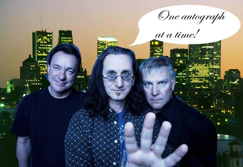 Geddy Lee's Wife http://coolopolis.blogspot.com/2010/11/rush-coming-to-montreal-april-20.html