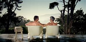 There 2 bathtubs cialis commercial