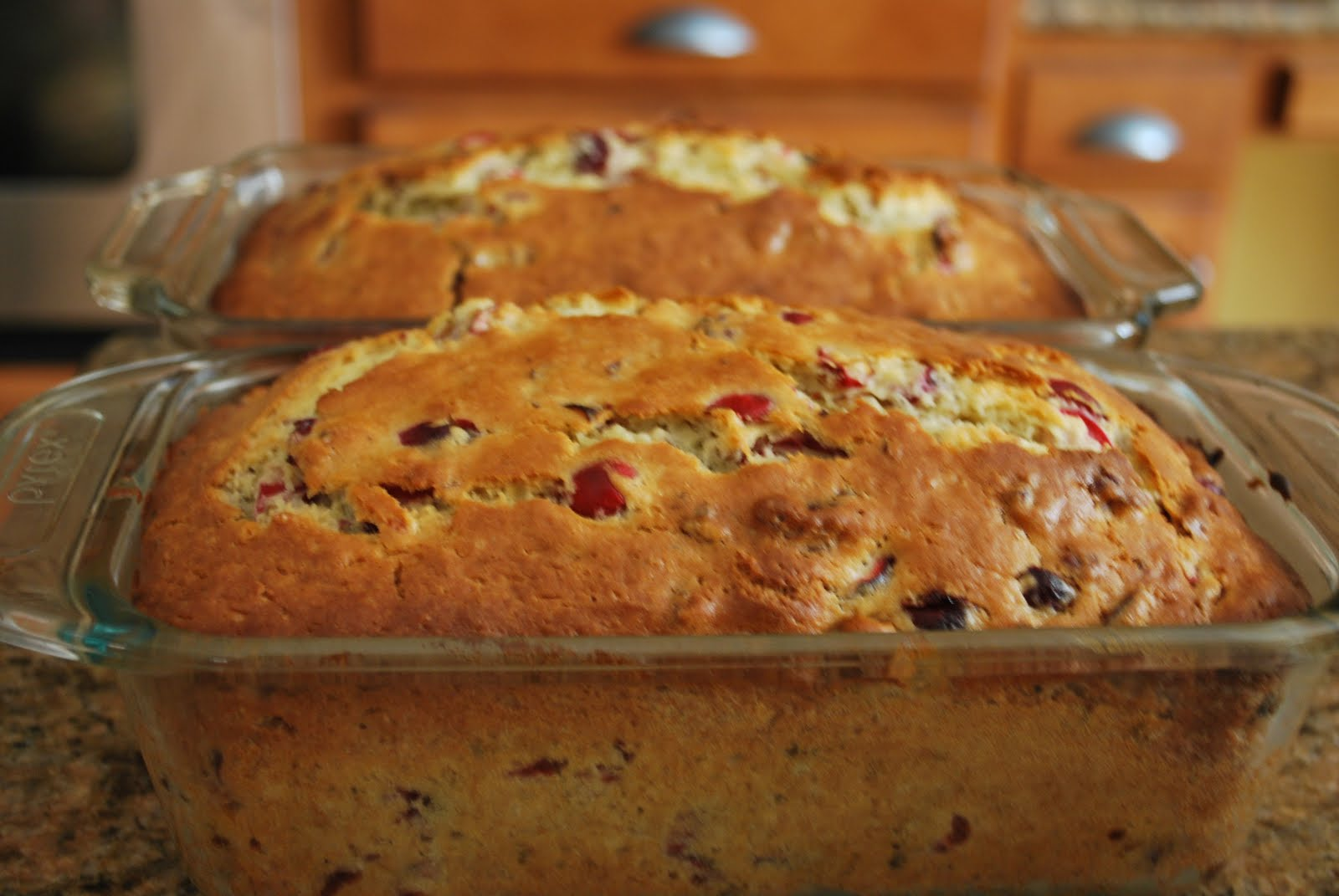 The Virtual Kitchen: Cranberry Orange Toasted Pecan Bread