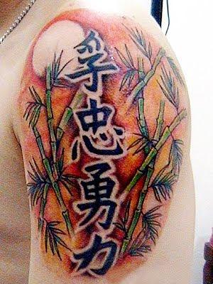 Kanji Tattoo Design. kanji tattoo designs