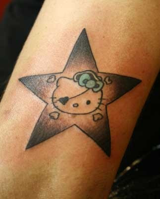 nautical star tattoo and