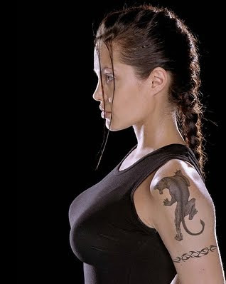 Tattoo beauty Angelina Jolie
