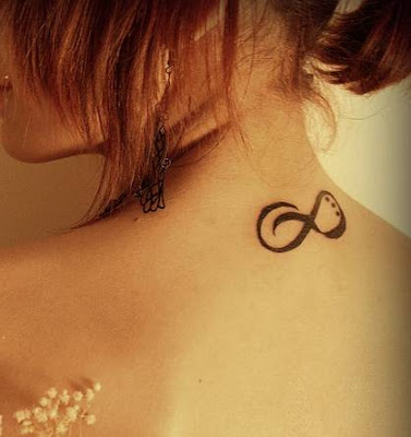 Girl Tattoo on Tribal Tattoo  Sweet Infinity Tattoo For Girls