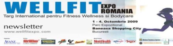 WellfitExpo,1-4 octombrie 09, 10.00-20.00, la Baneasa Shopping.