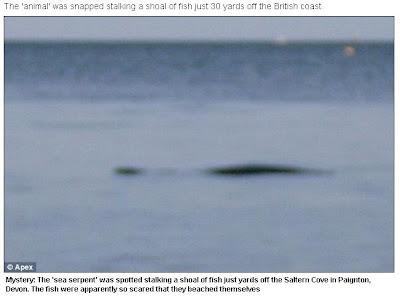 英國 海怪 海邊