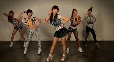 韓國美女Pizza舞