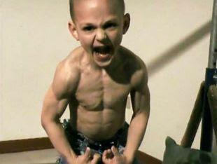 史上最強壯的男童