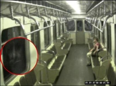 俄羅斯 地鐵 鬼魂照 - 俄羅斯地鐵 Bokeluofu 鬼魂照