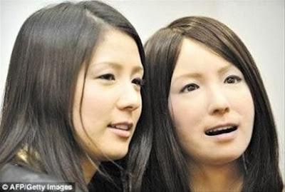 日本 美女機器人