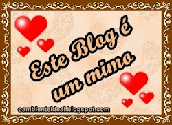 Mimo do blog Sonhar e Realizar