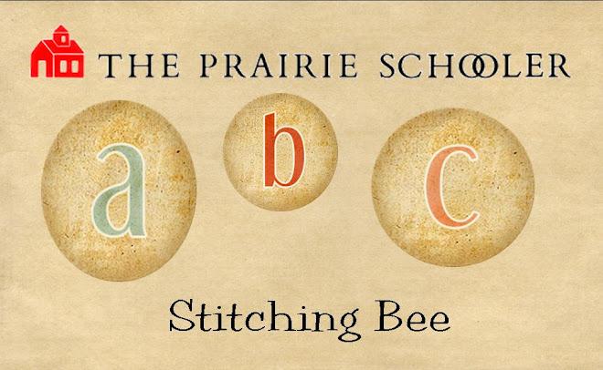 Prairie Schooler ABC Stitching Bee