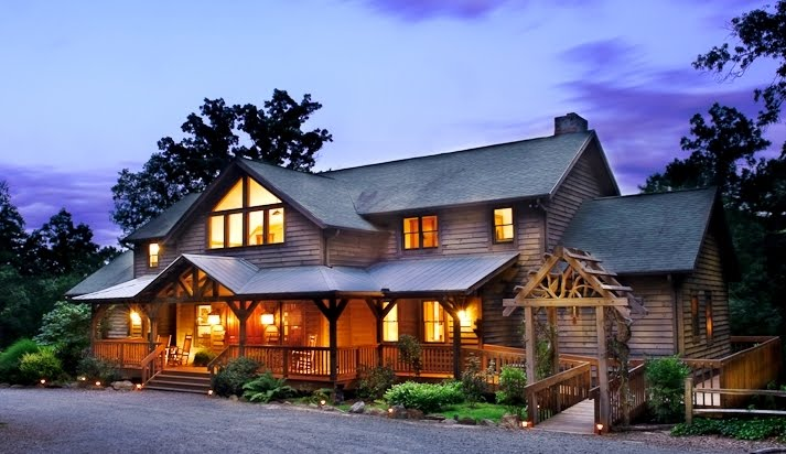 North carolina bed and breakfasts inns mountain lodges for Asheville mountain homes