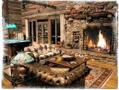 North carolina bed and breakfasts inns mountain lodges for Rustic home decorations