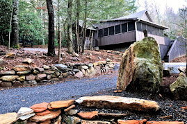 Brevard North Carolina  renovated 1917 cabin overlooking stream $750 wk