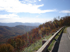 The Blueridge Parkway in North Carolina