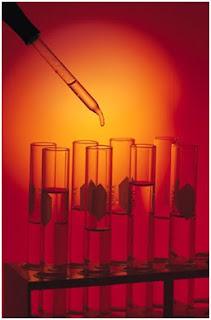 image of chemistry bottles