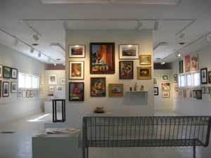 Interior View of the Del Ray Artisans