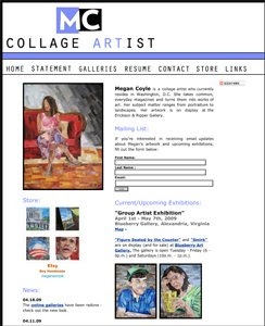 Megan Coyle's website