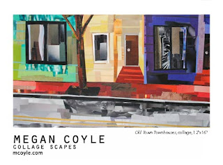 Collage Scapes by collage artist Megan Coyle