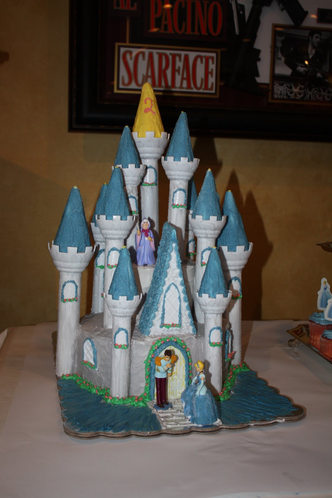 Silly Monkey Cakes Cinderella S Castle Cake