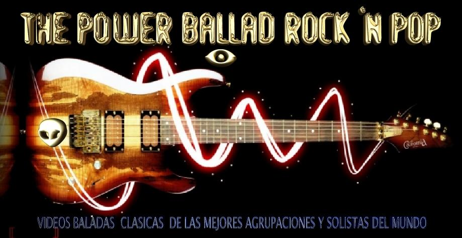THE POWER BALLAD  ROCK  'N  POP