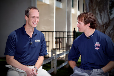 Drew Brees and John Weisbarth