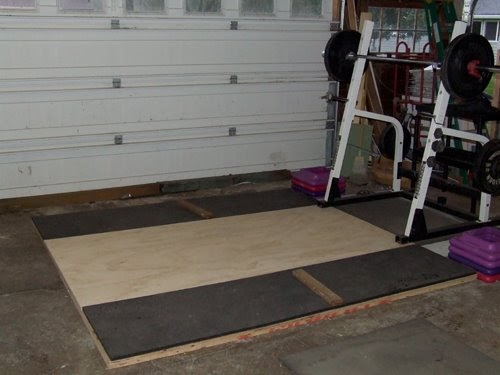 The Mighty Mix How To Build An Olympic Weightlifting Platform