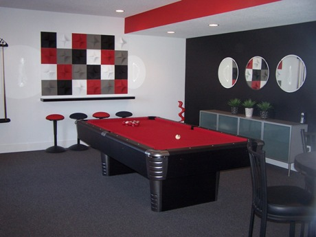 house of decor decorating a family recreation room