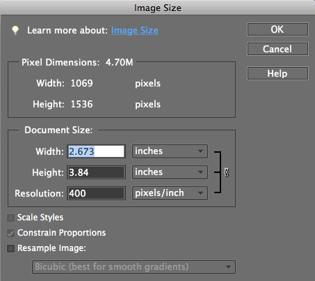 "Facebook Profile Picture Size In Inches Under ""document size"" you will"