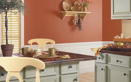 Interior paint schemes interior paint colors kitchen for Kitchen interior colour