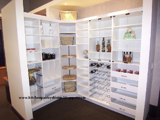 Kitchen pantry design kitchen pantry ideas pantry for Kitchen closet ideas